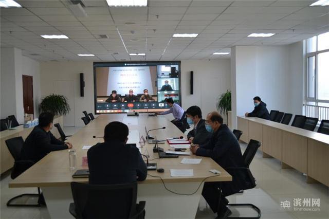 (濱州市北海經濟開發區舉行了一場別開生面的客商見面會 圖片來源:濱州網)