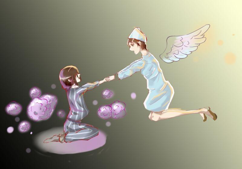 茌平区振兴中学——靖超作品《天使的翅膀》